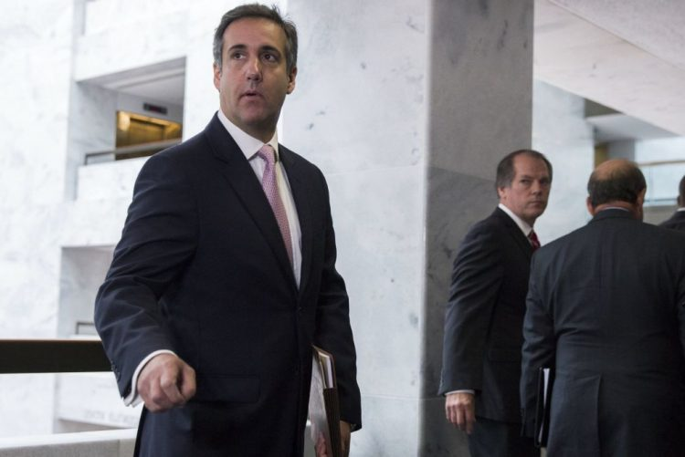 Investigação sobre Cohen tem a ver com negócios pessoais