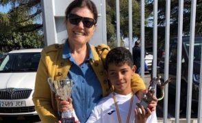 Filho de Cristiano Ronaldo segue as pisadas do pai e já recebe prémios