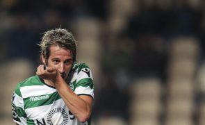 Fábio Coentrão e Bas Dost regressam ao Sporting para dérbi com Belenenses