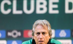Jesus vê Sporting no limite e FC Porto descansado para meia-final da Taça de Portugal