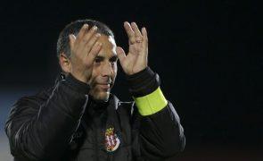 Treinador do Caldas acredita que equipa pode chegar ao Jamor
