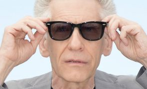 David Cronenberg recebe prémio de carreira no Festival de Cinema de Veneza