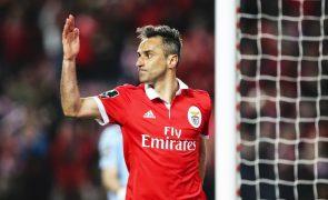 Jonas continua ausente dos treinos do Benfica