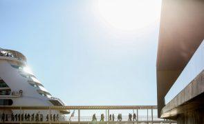Mais de 52 mil passageiros no Terminal de Cruzeiros de Lisboa no primeiro trimestre