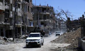 Inspetores já recolheram amostras em Douma, na Síria