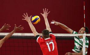 Sporting derrota Benfica e empata final do Nacional de voleibol