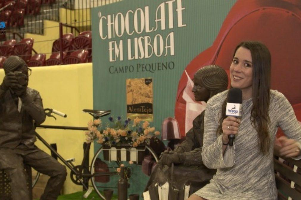 O chocolate invadiu Lisboa