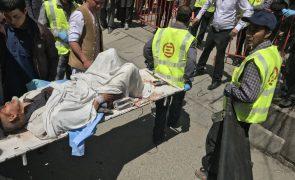 Balanço de atentado suicida em Cabul sobe para 31 mortos e 54 feridos