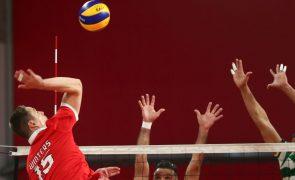 Sporting derrota Benfica e ganha vantagem na final do Nacional de voleibol