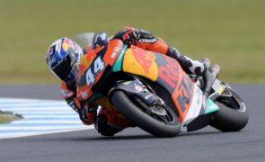 Miguel Oliveira terceiro no Grande Prémio das Américas de Moto2