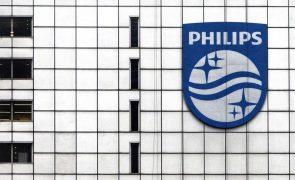 Lucro da Philips cai 46% no 1.º trimestre para 125 milhões de euros