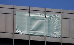 Resultados do Deutsche Bank caem 79% no primeiro trimestre para 120 ME