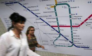 ÚLTIMA HORA: Metro de Lisboa sem serviços mínimos para a circulação de comboios na quinta-feira