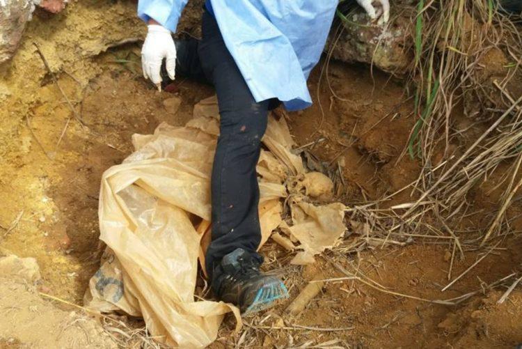 Polícia encontra ossadas e perna e soluciona 3 mortes [vídeo (+18)]