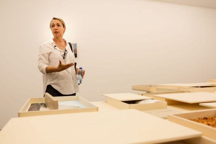 Exposição de Fernanda Fragateiro em Lisboa faz a síntese da sua produção artística