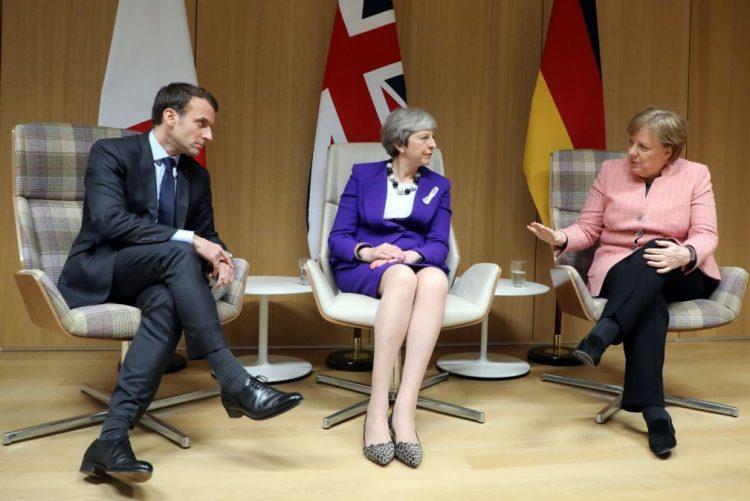 Macron, May e Merkel reunem após anúncio de Trump sobre acordo nuclear com Irão
