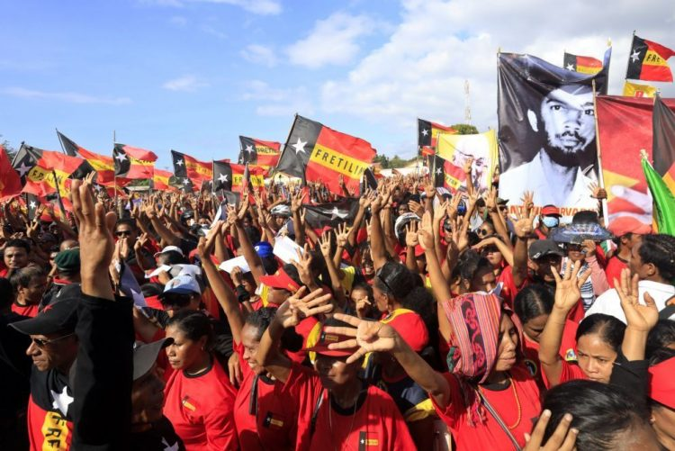 Fretilin reúne milhares em 'showmício' de encerramento de campanha eleitoral