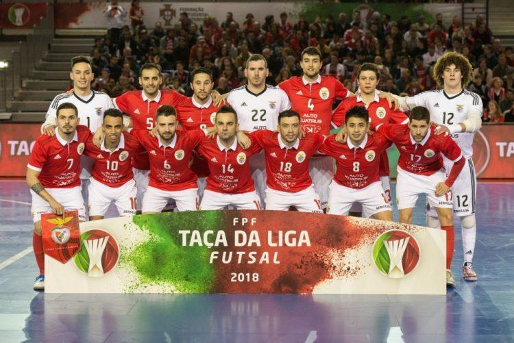 Benfica vence Burinhosa e apura-se para as meias-finais da Taça de futsal