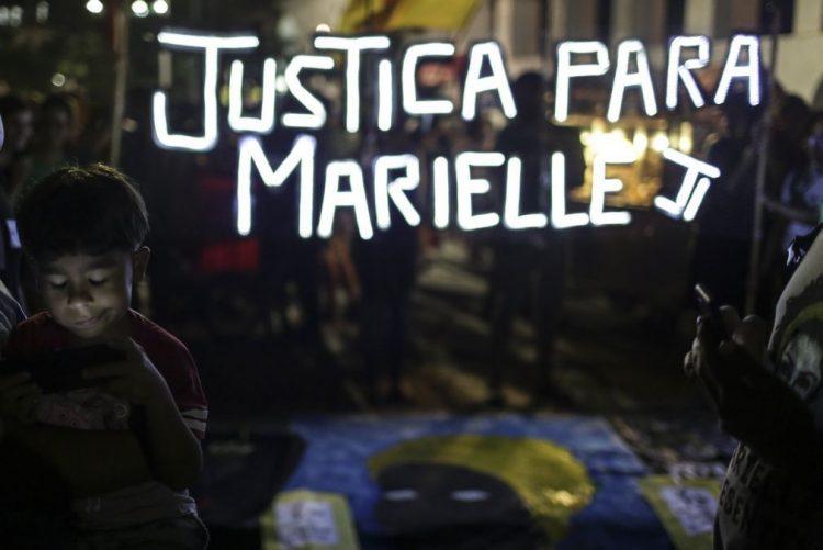 Polícia faz reconstituição do assassínio de Marielle Franco