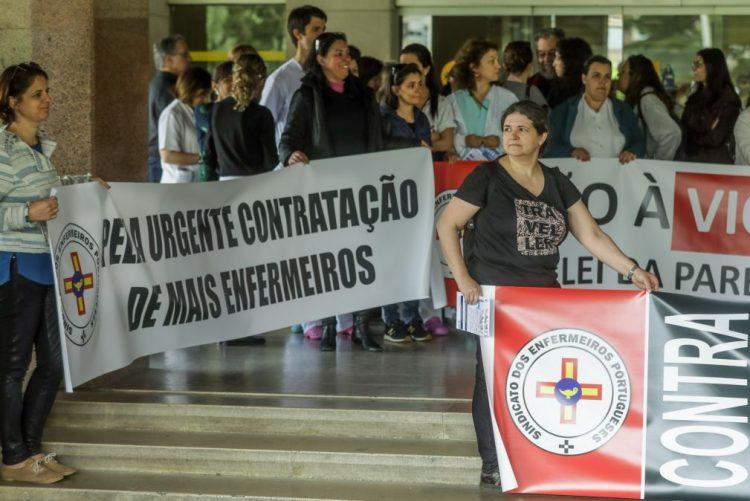 Dia dos Enfermeiros assinalado com marcação de greves em todo o país