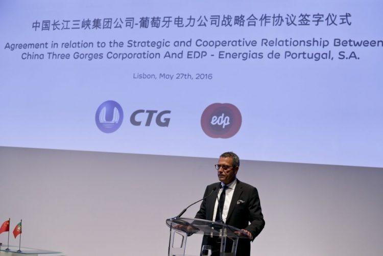 Grupo chinês faz depender avanço da OPA de não oposição do Governo
