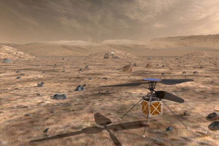 Nasa vai enviar em 2020 mini-helicóptero para explorar Marte