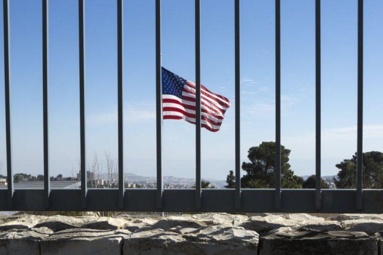 Embaixada dos EUA em Jerusalém inaugurada segunda-feira com mensagem de Trump por vídeo