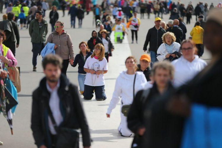 Cerca de 37 mil peregrinos a pé estão já em Fátima ou a caminho do santuário