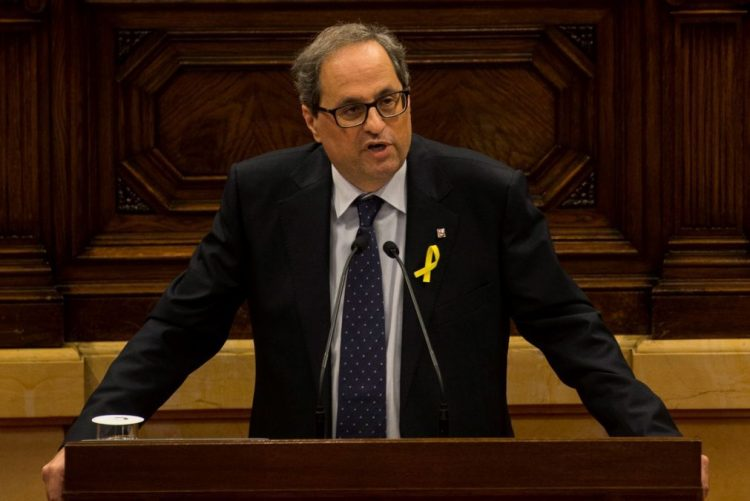 Candidato a presidente da Catalunha promete 'constituição' e estende a mão a diálogo