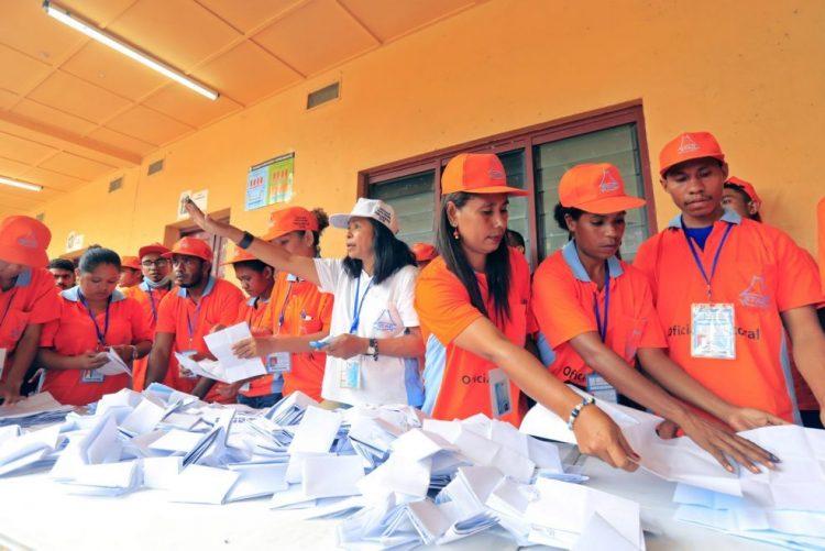 Timor-Leste/Eleições: AMP lidera com 49,32% dos votos após um quarto dos votos apurados