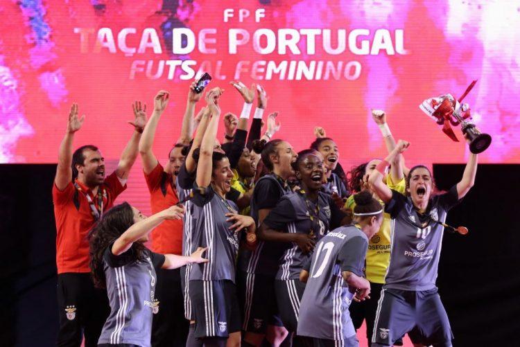 Benfica vence Novasemente e conquista quarta Taça de Portugal em futsal feminino