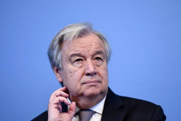 António Guterres apela à manutenção da paz no Iraque em tempo de eleições