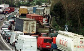 Excesso de velocidade na VCI do Porto com multas nas