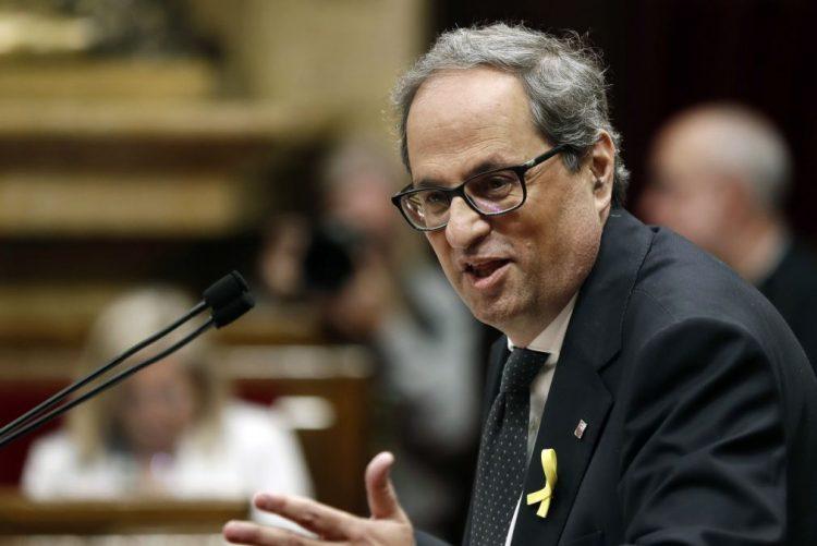 Quim Torra eleito presidente do Governo regional da Catalunha