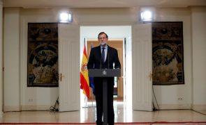 Rajoy quer entendimento com presidente regional da Catalunha desde que cumpra a lei