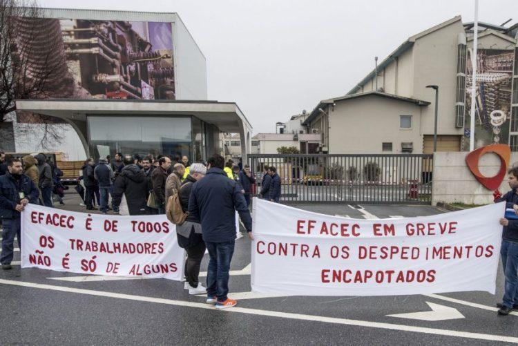 Trabalhadores da Efacec marcam greve parcial para dia 23