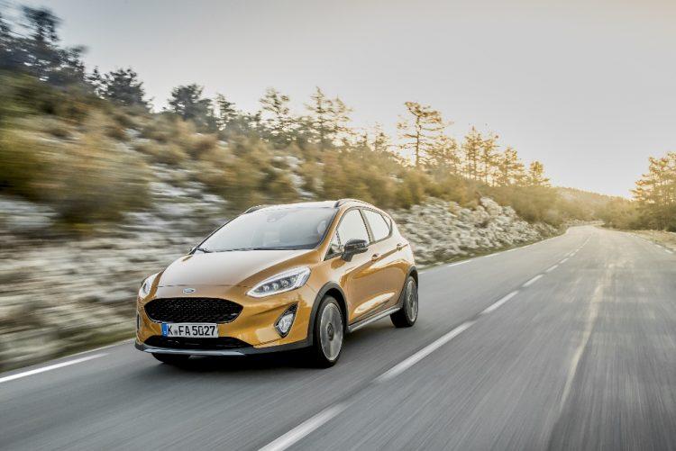 Novo crossover Ford Fiesta Active: robustez e versatilidade