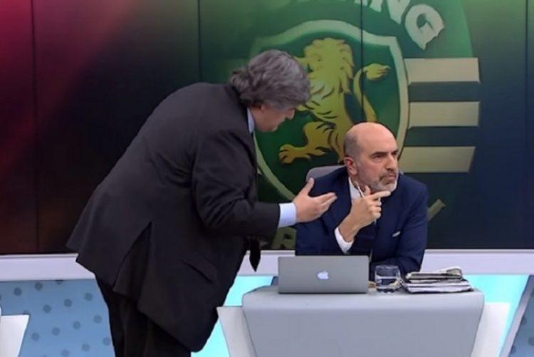 Comentador do Sporting abandona programa da TVI após ameaças físicas em direto
