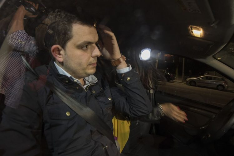 Sporting: André Geraldes paga 60 mil euros e sai em liberdade