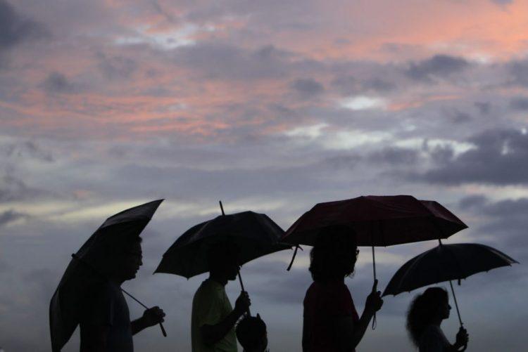 Nove distritos do continente sob aviso amarelo hoje devido à previsão de chuva