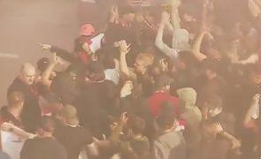 Após Alcochete mais um episódio de violência no futebol [primeiras imagens de vídeo]