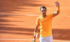 Rafael Nadal pela 10.ª vez na final do torneio de ténis de Roma