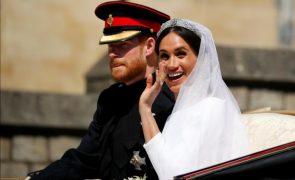 Harry e Meghan Casamento de conto de fadas