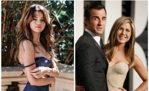 Jennifer Aniston pede explicações a Selena Gomez, que anda com o ex-marido da atriz