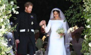 Convidados do casamento de Harry e Meghan foram aconselhados a usar pensos higiénicos