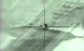 Aeroporto militar do regime sírio alvo de ataque com mísseis