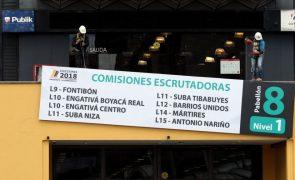 Colombianos vão hoje às urnas para eleger Presidente da República