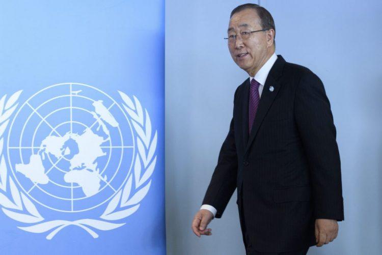 Ban Ki-moon diz que a cidade síria de