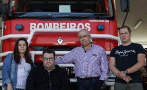 Bombeiros de Castanheira de Pera que ficaram feridos querem voltar ao ativo