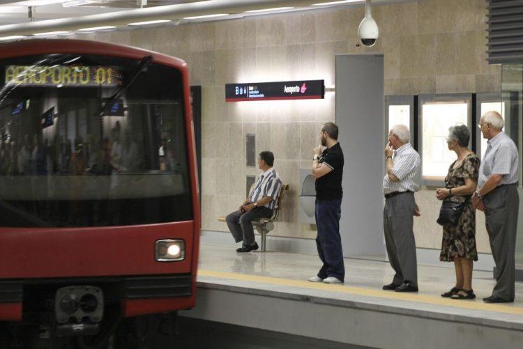 Circulação no metro entre estações do Aeroporto e Moscavide retomada sexta-feira